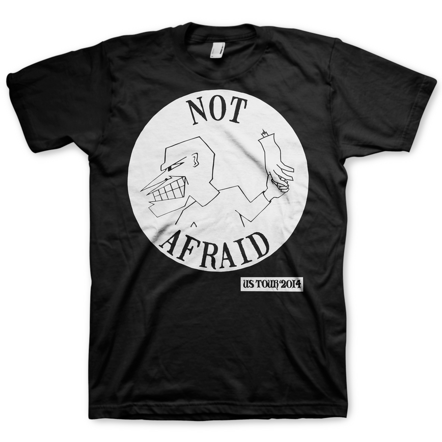 "Not Afraid ""2014 Tour"" Black T-Shirt"