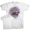 "Planes Mistaken For Stars ""Eye"" White T-Shirt"