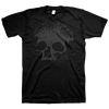 "Planes Mistaken For Stars ""Skull"" Black on Black T-Shirt"