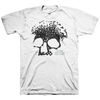 "Planes Mistaken For Stars ""Skull"" White T-Shirt"