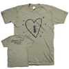 "Quentin Sauvé ""Whatever It Takes"" Khaki T-Shirt"