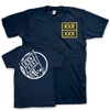 "React Records ""Flag Man"" Navy T-Shirt"