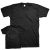 "React Records ""XXX"" Black On Black T-Shirt"