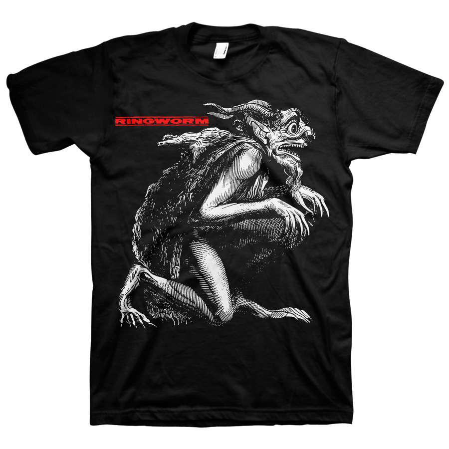 "Ringworm ""Goblin"" Black T-Shirt"