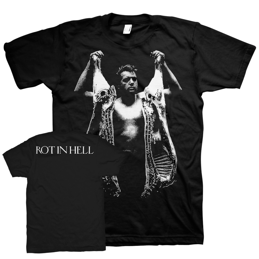 "Rot In Hell ""Sins Of Malice"" Black T-Shirt"
