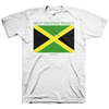"Self Defense Family ""Jamaica"" White T-Shirt"