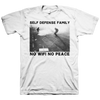"Self Defense Family ""No Wifi No Peace"" White T-Shirt"