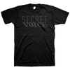 "Secret Voice ""Logo"" Black T-Shirt"