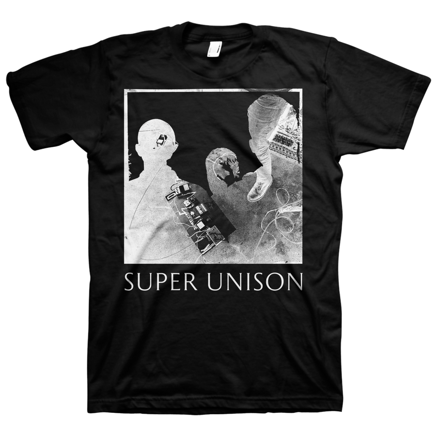 "Super Unison ""Silhouette"" Black T-Shirt"