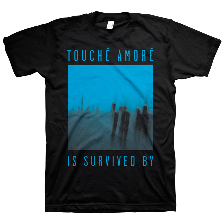 "Touche Amore ""Is Survived By"" Black T-Shirt"