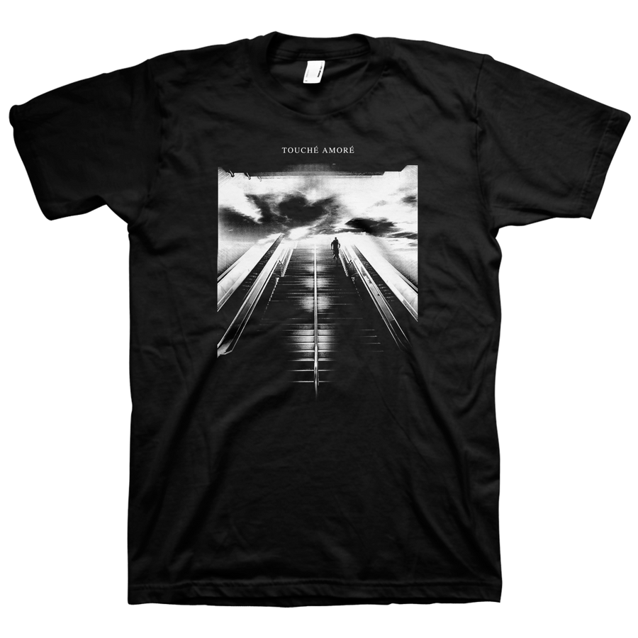 "Touche Amore ""Stairway"" Black T-Shirt"