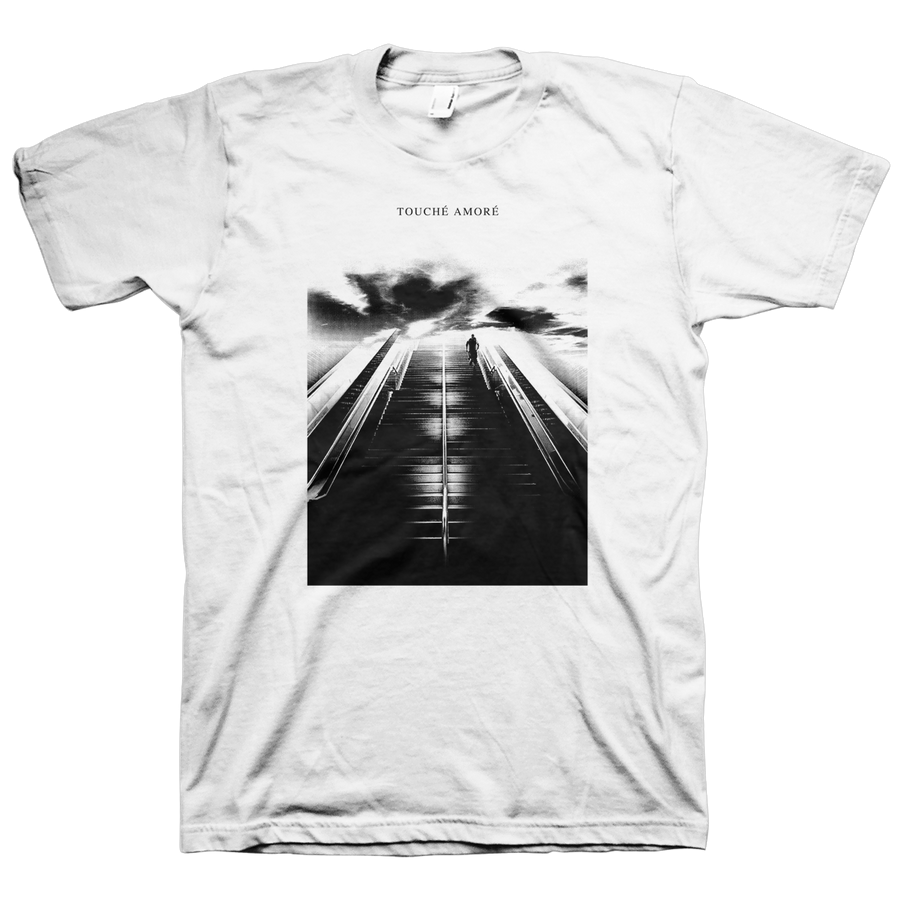 "Touche Amore ""Stairway"" White T-Shirt"