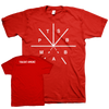 "Touche Amore ""Symbol"" Red T-Shirt"