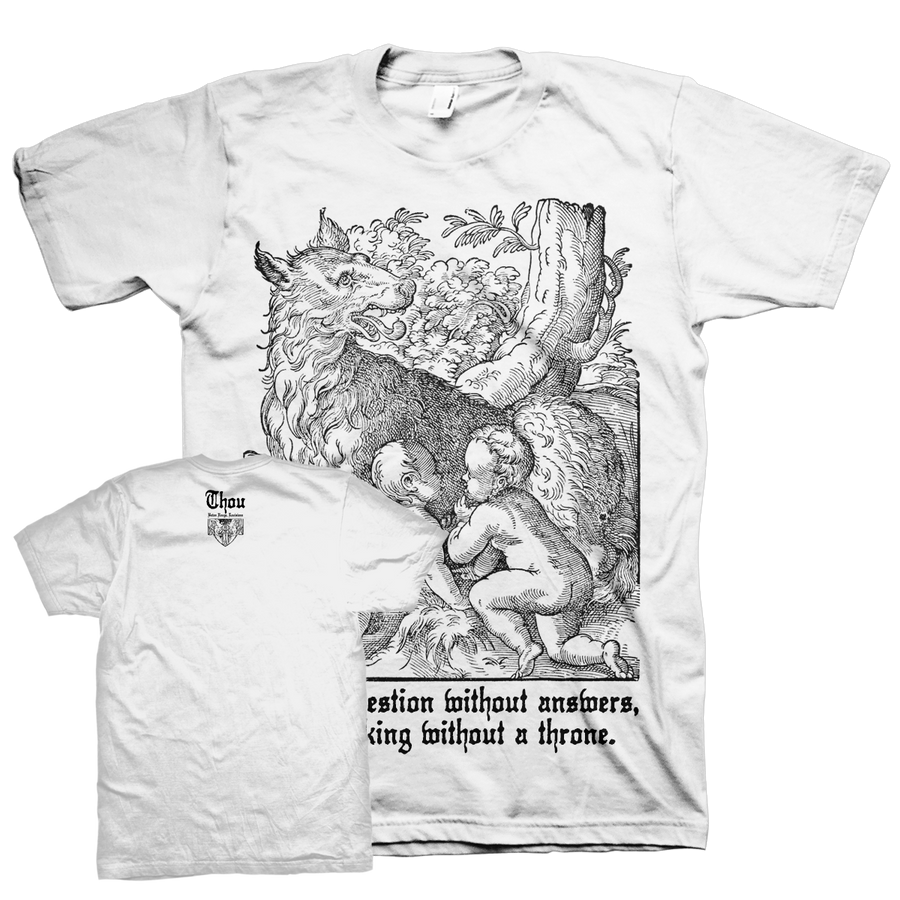 "Thou ""Rhea Sylvia"" White T-Shirt"