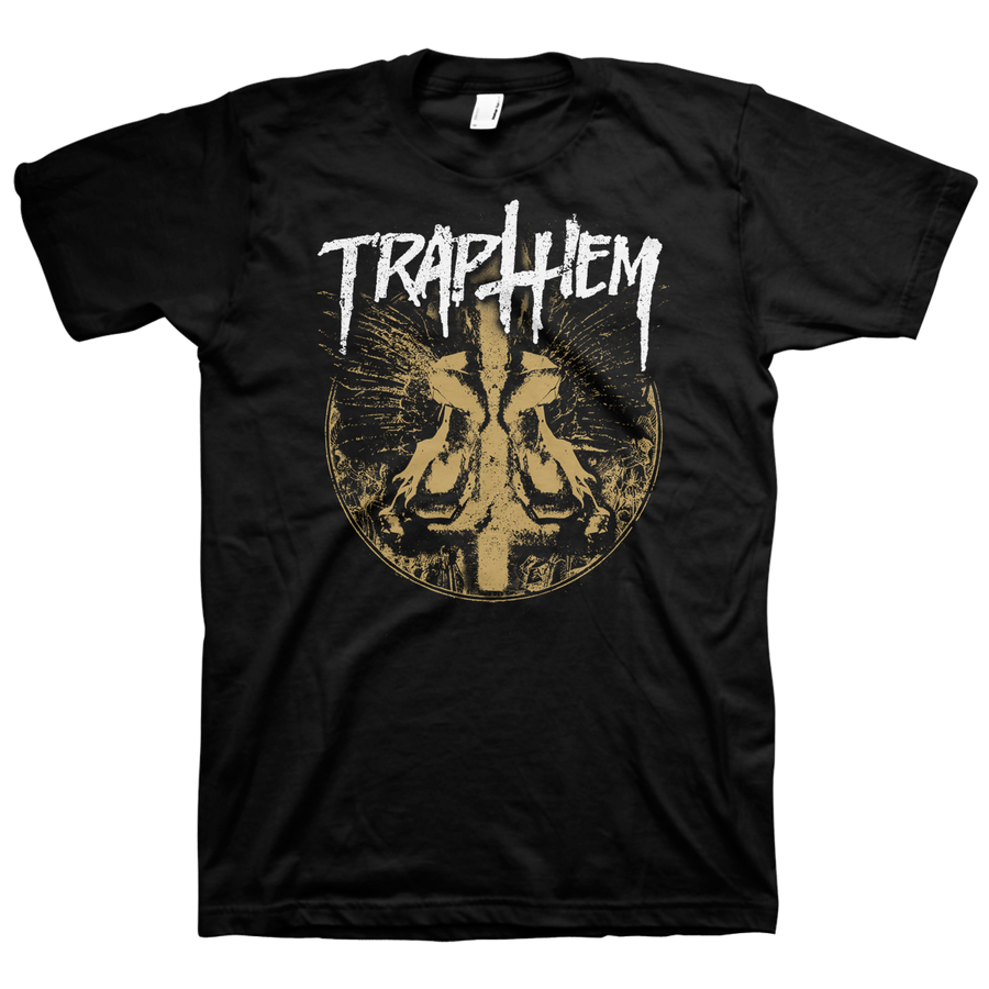 "Trap Them ""Cross"" Black T-Shirt"