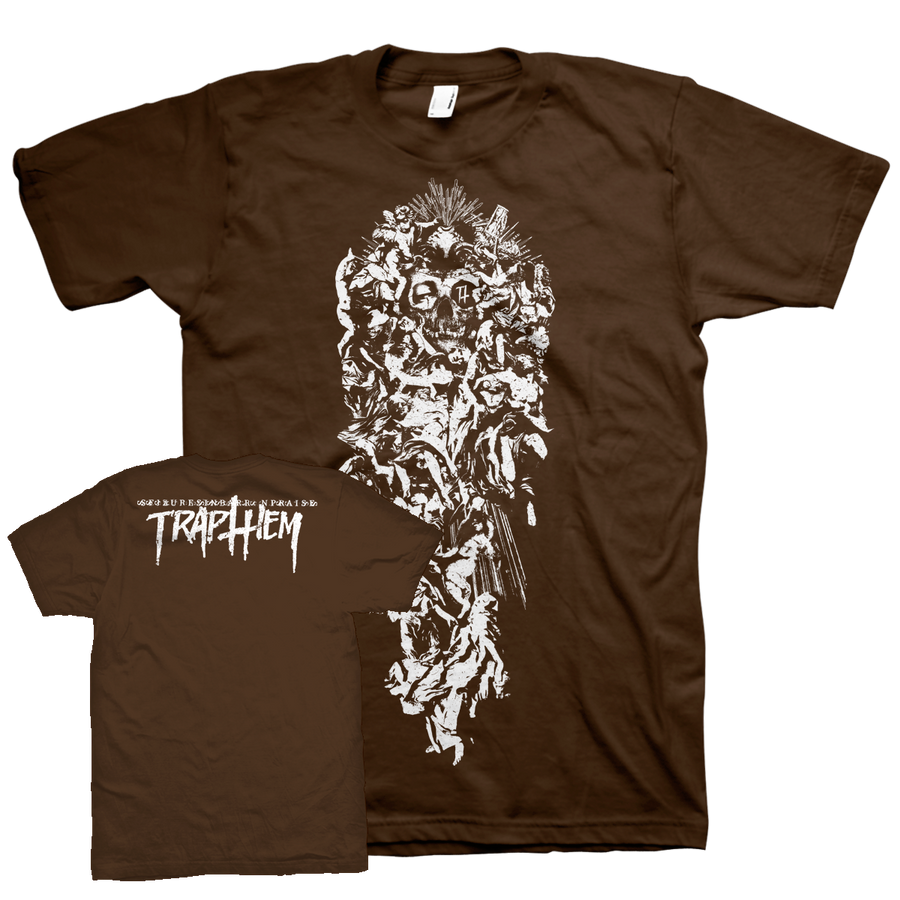 "Trap Them ""Seizures"" Brown T-Shirt"