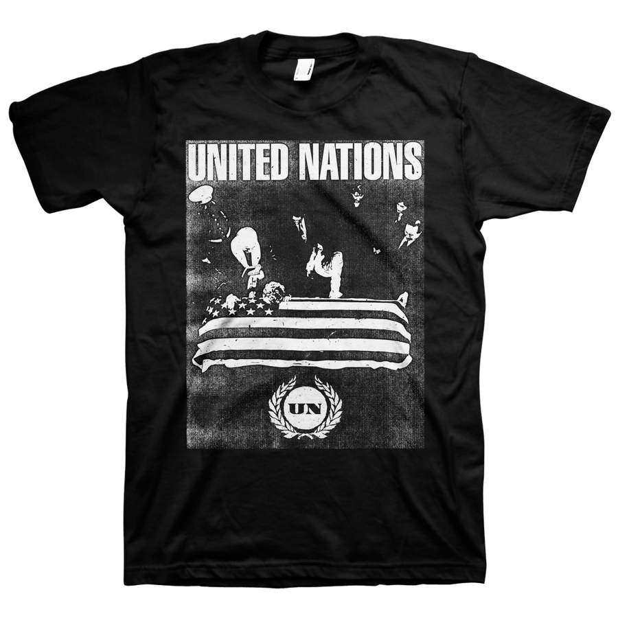 "United Nations ""Mourn"" Black T-Shirt"