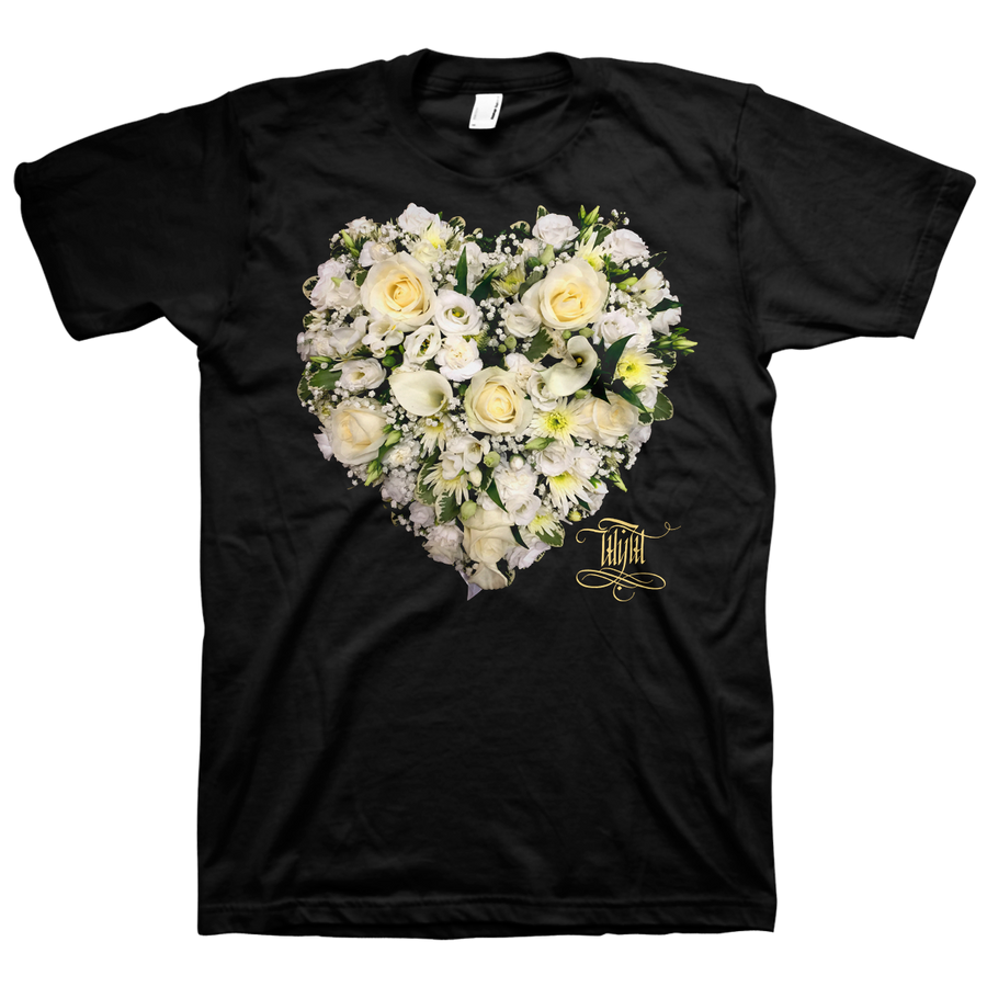 "Wear Your Wounds ""Arthritic Heart"" Black T-Shirt"