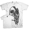 "Zac Scheinbaum ""Melting"" White T-Shirt"