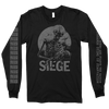"Siege ""Starvation"" Black Longsleeve"