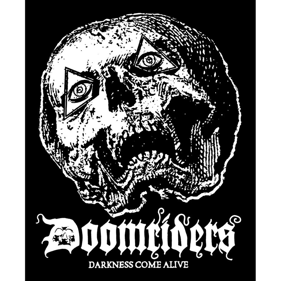 "Doomriders ""Darkness Come Alive"" Sticker"