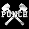 "Punch ""Hammer"" Sticker"