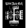"Rise And Fall ""Faith"" Sticker"