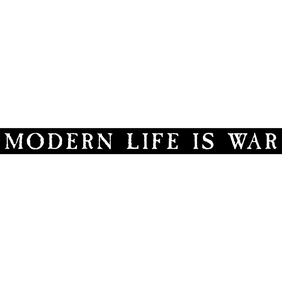 "Modern Life Is War ""Logo"" Sticker"