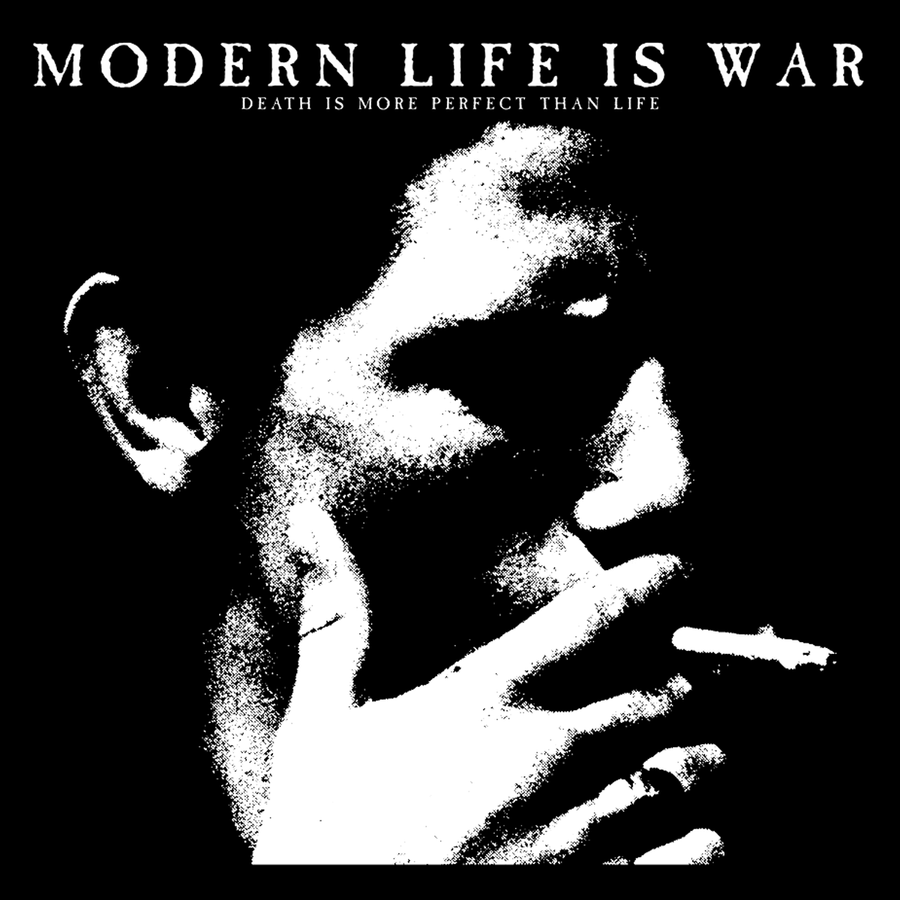 "Modern Life Is War ""Smoker"" Sticker"