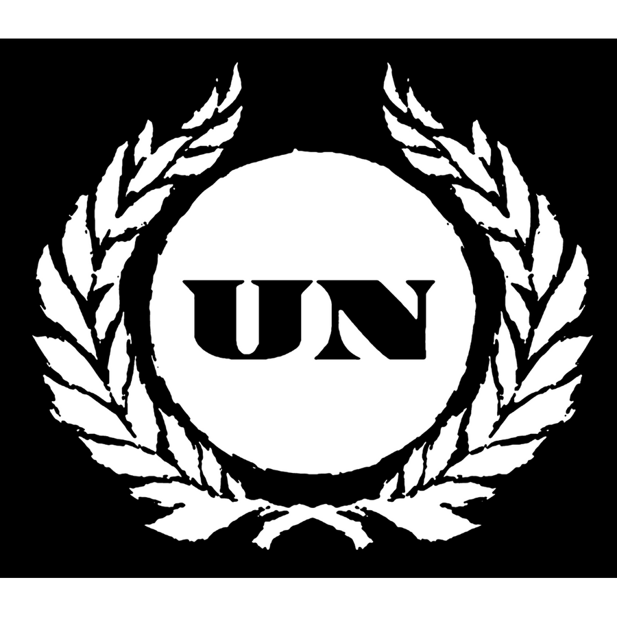 "United Nations ""Crest"" Sticker"