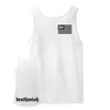 "Deathwish ""Flag"" White Tank Top"