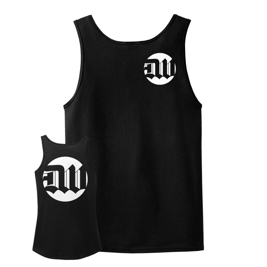 "Deathwish ""New Logo"" Black Tank Top"