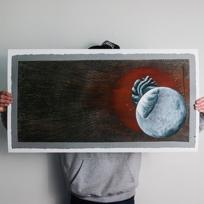 "Thomas Hooper ""Heart"" Giclee Print"