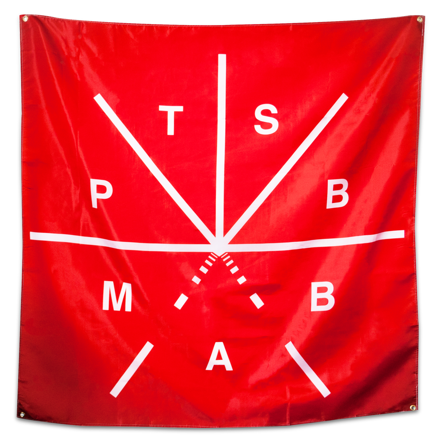 "Touche Amore ""Parting The Sea..."" Banner"