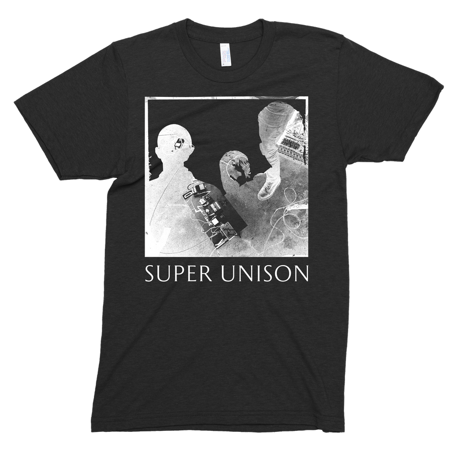 "Super Unison ""Silhouette"" Women's Black T-Shirt"