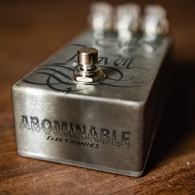 "Wear Your Wounds ""Rust On The Gates Of Heaven"" Pedal by Abominable Electronics"