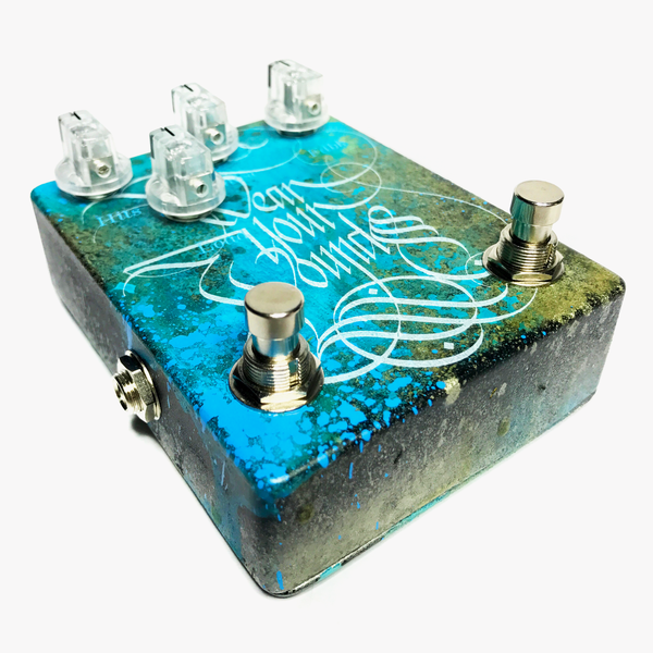 Wear Your Wounds Delay Pedal by Abominable Electronics
