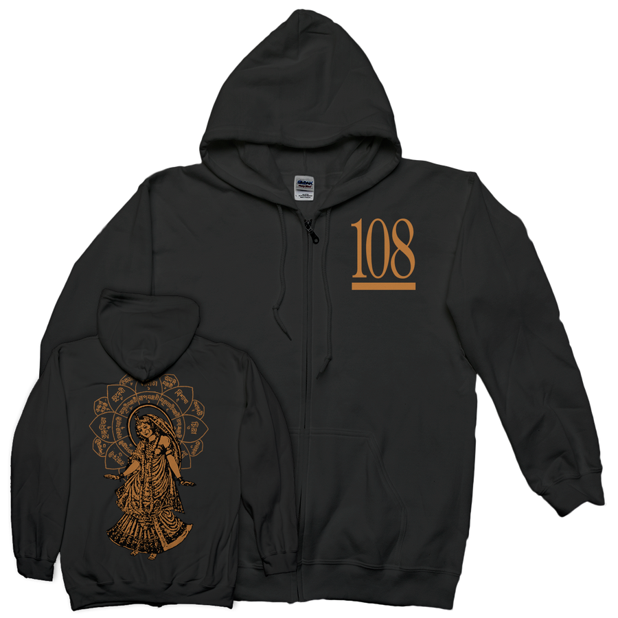 "108 ""Radha"" Zip-Up Sweatshirt"