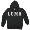 "Loma Prieta ""LOMA"" Zip-Up Sweatshirt"