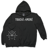"Touche Amore ""Logo"" Zip-Up Sweatshirt"