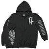 "Trap Them ""Seizures"" Zip-Up Sweatshirt"