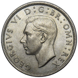 1950 HALFCROWN - GEORGE VI BRITISH COIN - V NICE