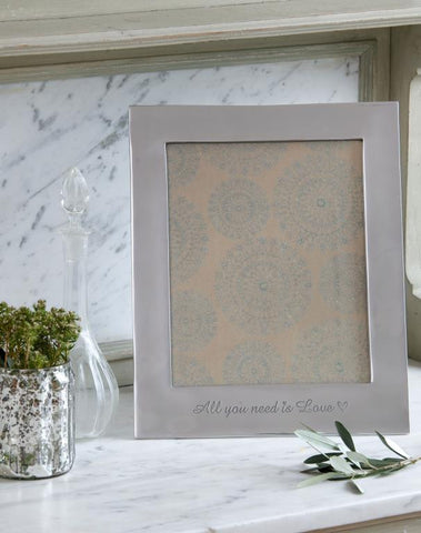 8x10 All you need Photo Frame - Emily May's Attic