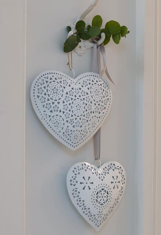 Hanging Hearts set of 2 - Emily May's Attic