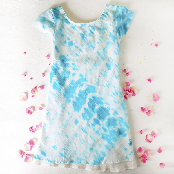 Paint the Sky Tie n Dye Slip Dress