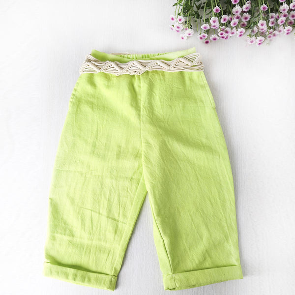 Breezy morning Crop pants
