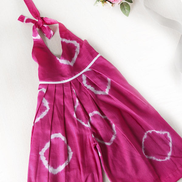 Playful Tie n dye halter dress