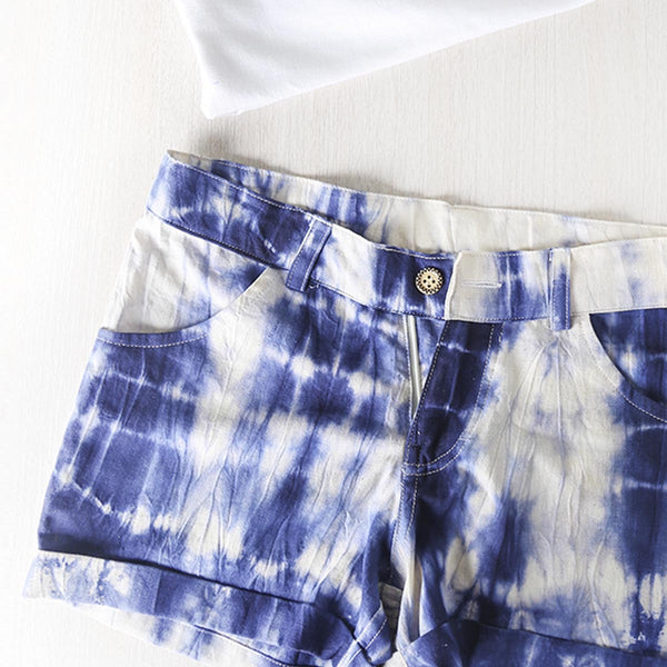 Ripples Tie n Dye Shorts