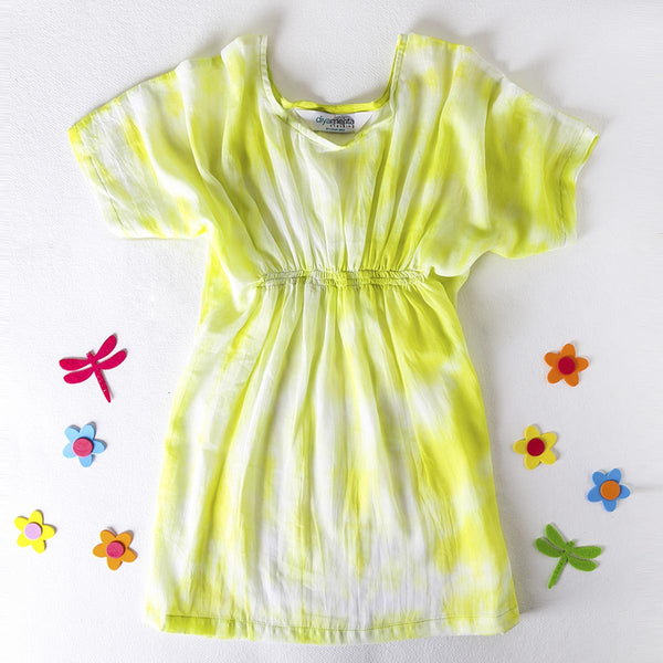 Color Me Fun Short Kaftan Dress