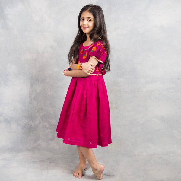 red frock for tweens